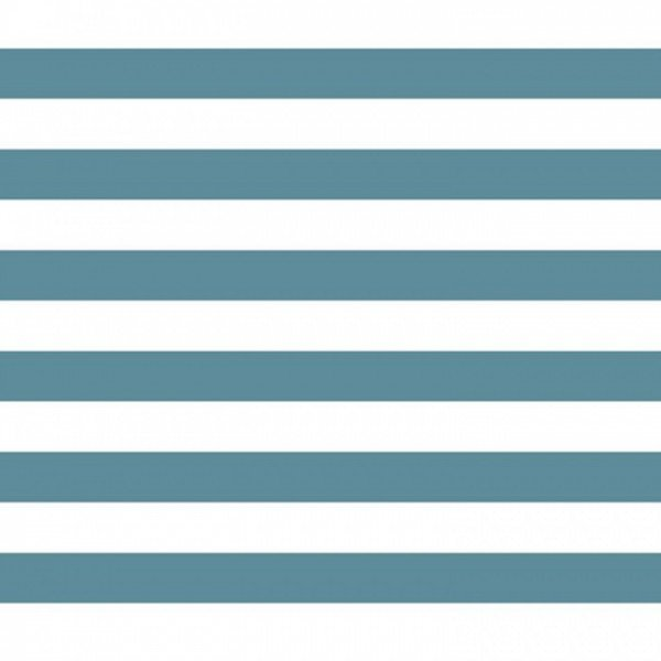 Popeline Stripe - col. 003 blau/weiß