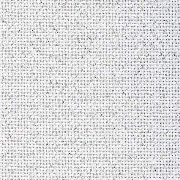 Bellana 8,0 Fäden/cm, Zählstoff - Farbe 17 silber/weiß