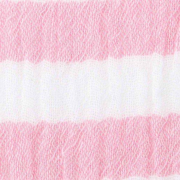 Double Gauze Design Stripes - col. 005 pink