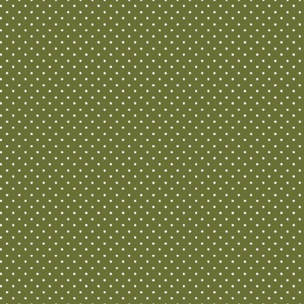 Baumwolle Design Petit Dots - col. 017 grün