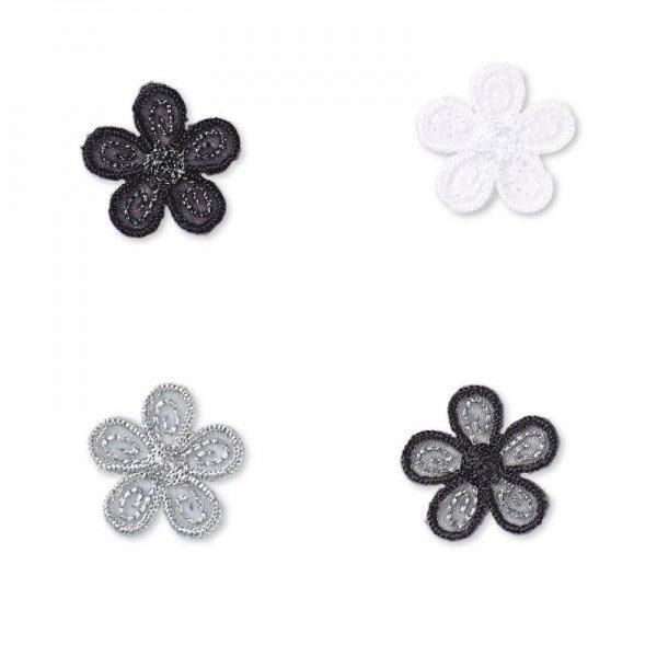 Applikation Fashion and Home - Blumen klein aufbügelbar