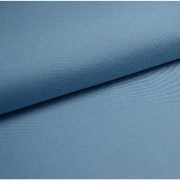Jersey Bündchen Schlauch Uni - col. 706 taubenblau