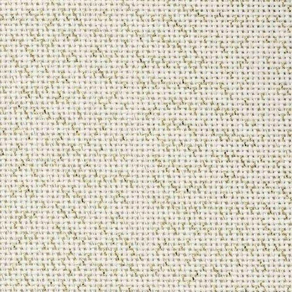 Bellana 8,0 Fäden/cm, Zählstoff - Farbe 118 gold/beige