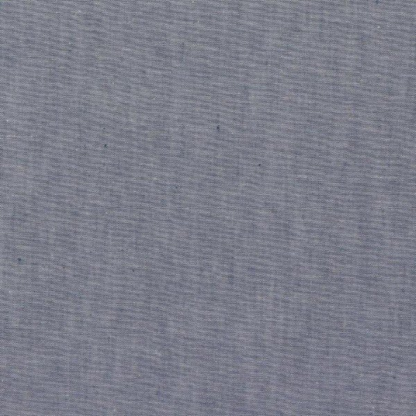 Baumwoll-Popeline Yarnd Dyed - col. 047 blau