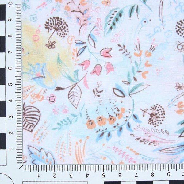 Popelin 50´S Print Digital - col. PE5171 Pink Blossom