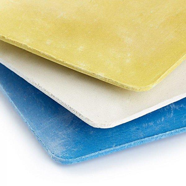 Schneiderkreide-Platten gelb/blau 2 St