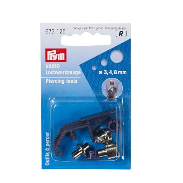 Lochwerkzeuge für Vario-Zange ST 3/4/8mm