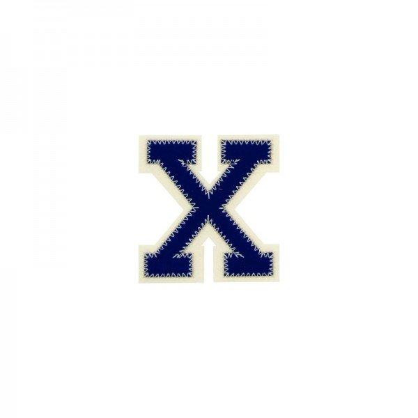 Applikation Buchstabe - Buchstabe X