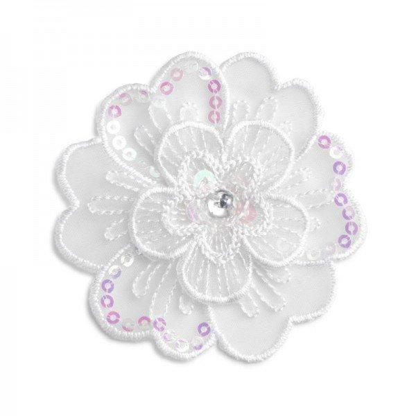 Applikation Fashion and Home - Blumen festlich