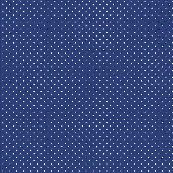 Baumwolle Design Petit Dots - col. 003 cobalt