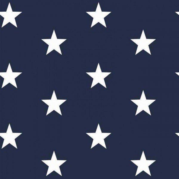 Baumwolle Design Stars - col. 002 navy