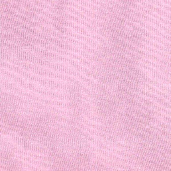 Sweat flauschig Uni - col. 610 rosa