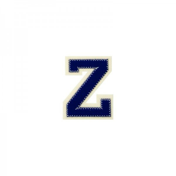 Applikation Buchstabe - Buchstabe Z