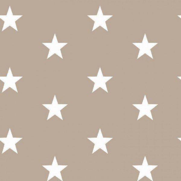 Baumwolle Design Stars - col. 022 sand