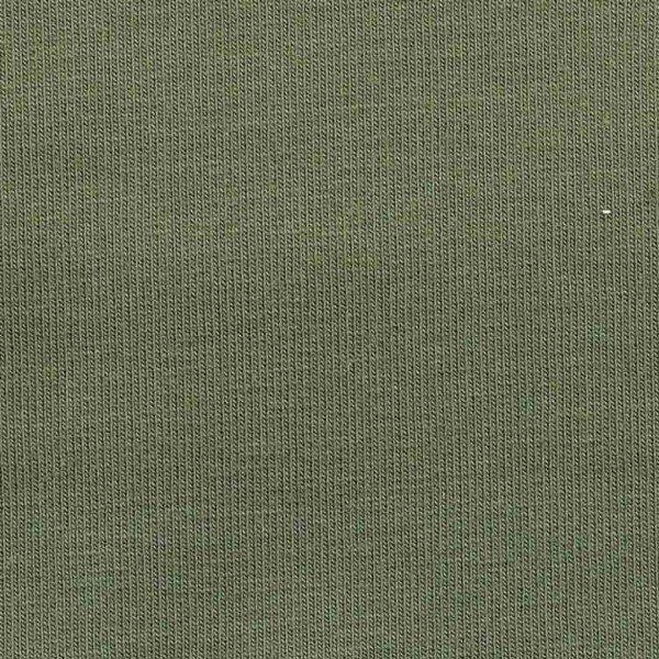 French Terry Uni unaufgeraut - col. 304 oliv