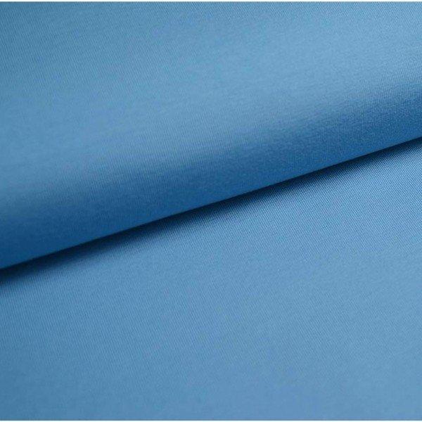 Jersey Bündchen Schlauch Uni - col. 707 hellblau