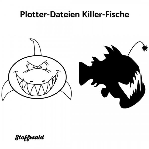 Plotter-Datei 2 Killer-Fische
