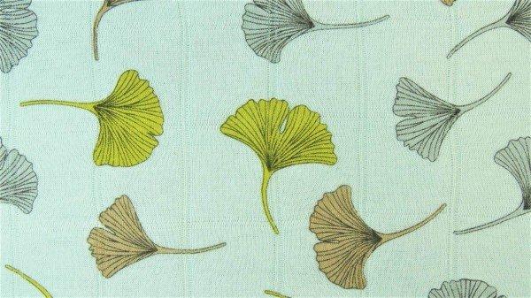 Musselin Ginkgo Leaves Hydrofile - col. 0621 lind