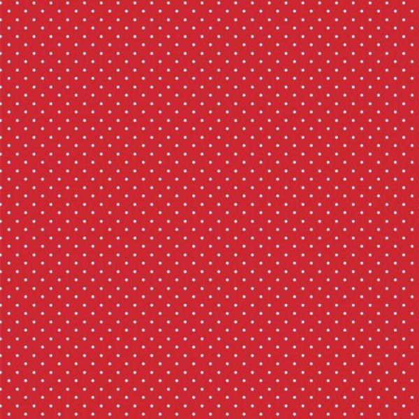 Baumwolle Design Petit Dots - col. 004 rot