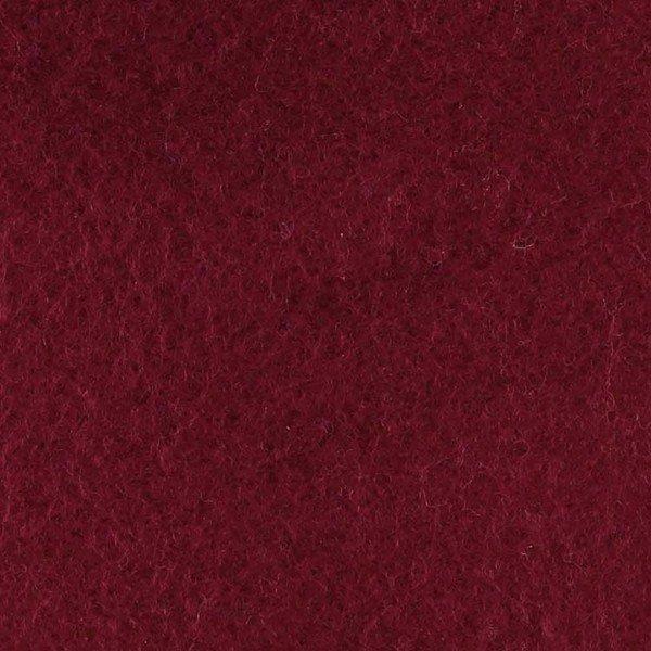 Baumwollfleece Uni - col. 509 burgund