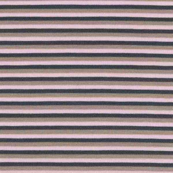 Jersey Design Stripes - col. 820 rosa/dunkelgrau/beige