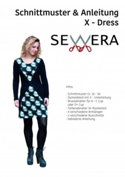 X – Dress Schnittmuster & Anleitung by Sewera