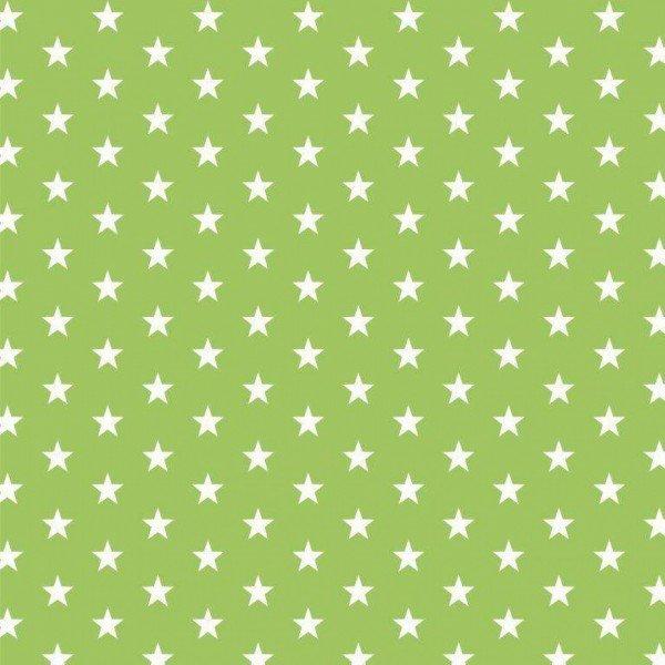Baumwolle Design Petit Stars - col. 008 lime