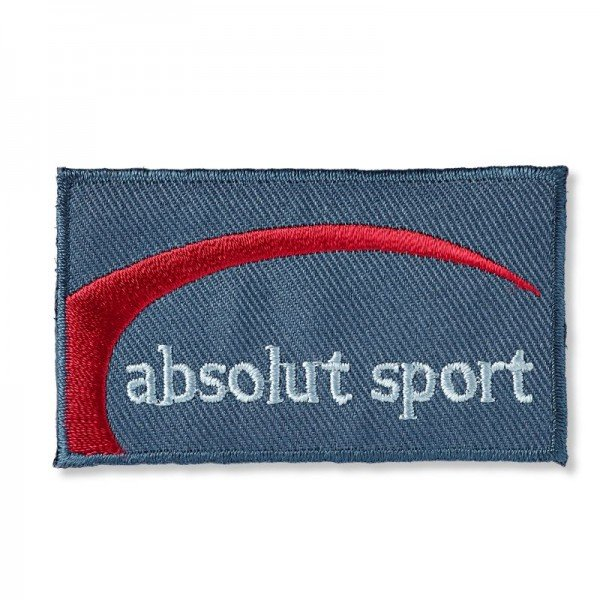 Applikation Teens and Jeans - Jeanslabel absolut sport