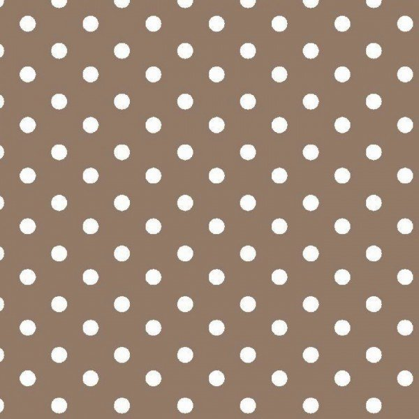 Baumwolle Design Dots - col. 019 taupe