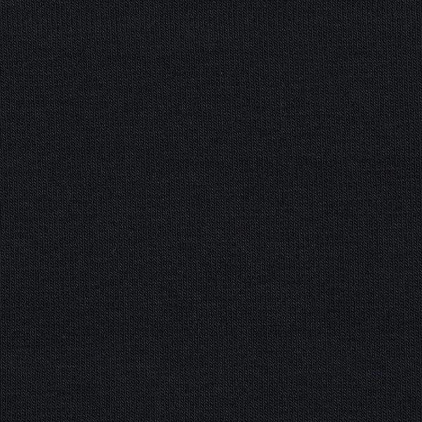 French Terry Uni unaufgeraut - col. 900 schwarz