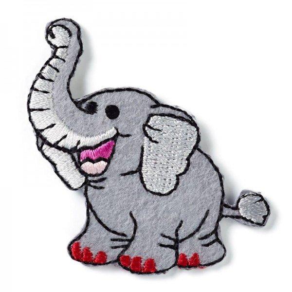 Applikation Kids and Hits - Elefant grau