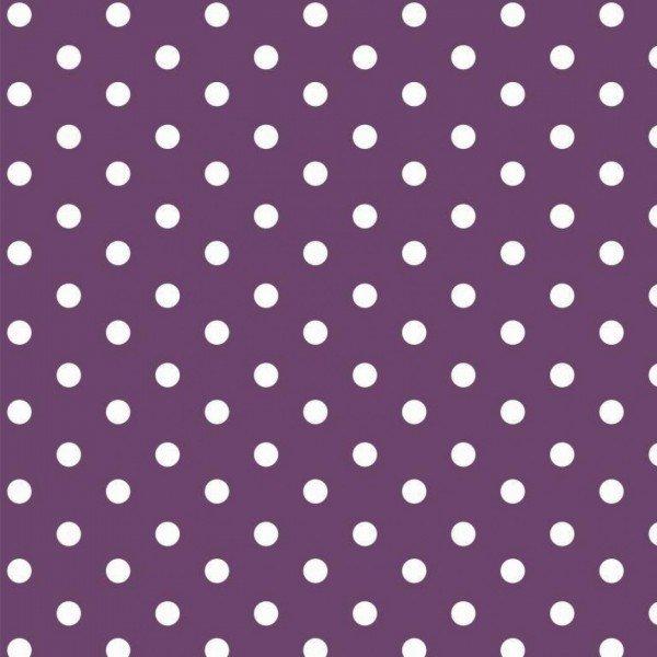 Baumwolle Design Dots - col. 007 purple