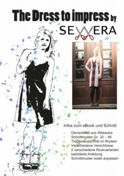 Dress to Impress Schnittmuster & Anleitung by Sewera