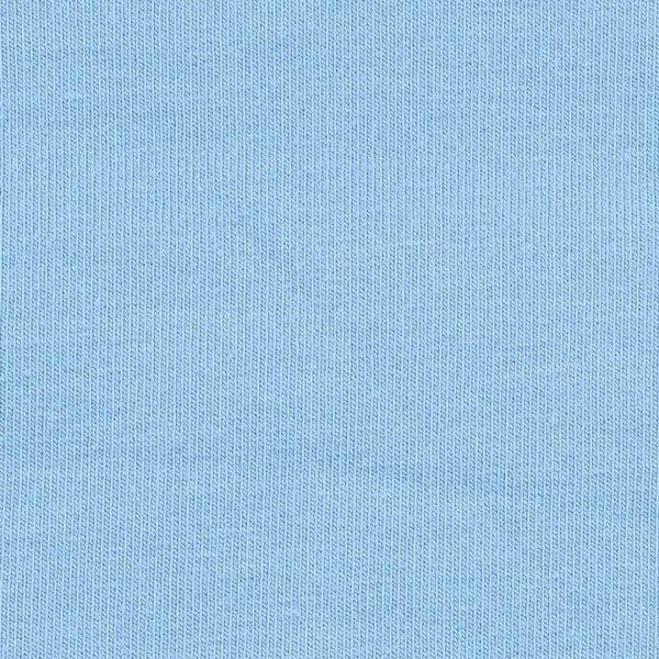 French Terry Uni aufgeraut - col. 706 taubenblau