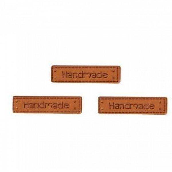 Label Handmade 4,1x1 cm 3 St