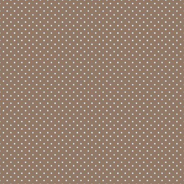 Baumwolle Design Petit Dots - col. 019 taupe