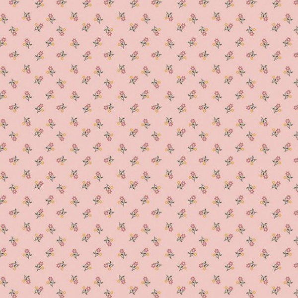 Popeline Flowers - col. 020 rose