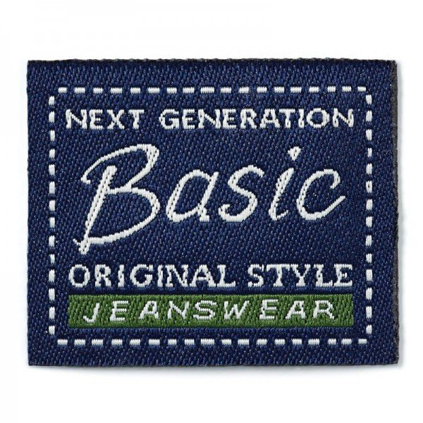Applikation Teens and Jeans - Jeanslabel Basic Orig. Style