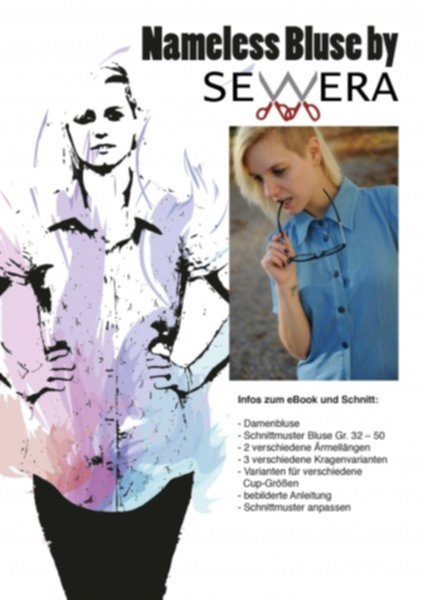 Nameless Bluse Schnittmuster & Anleitung by Sewera