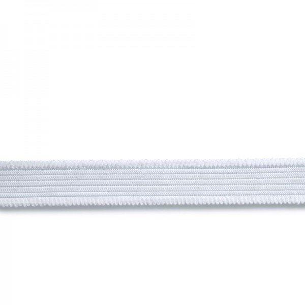 Jersey-Bund-Elastic 20 mm weiß 1 m