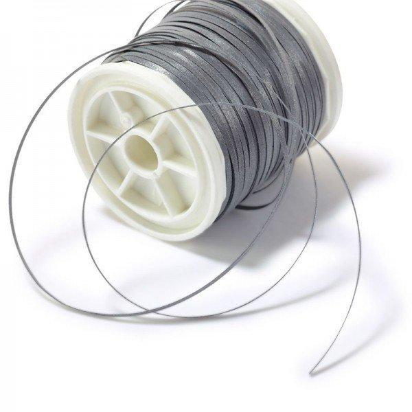 Hoch-reflektierendes Beilaufgarn - 0,5mm breit / 50 m