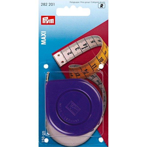 Rollbandmaß Maxi farbig sortiert 150cm