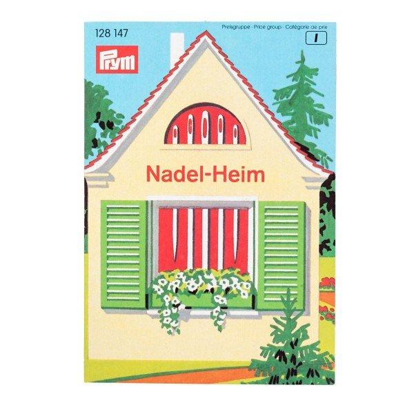 Näh/Stopfnadel-Sortiment mit Nadelheim, 19 Stk.