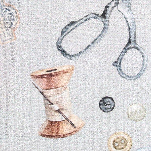 Canvas Digital Sewing Kit - col. 005 grey