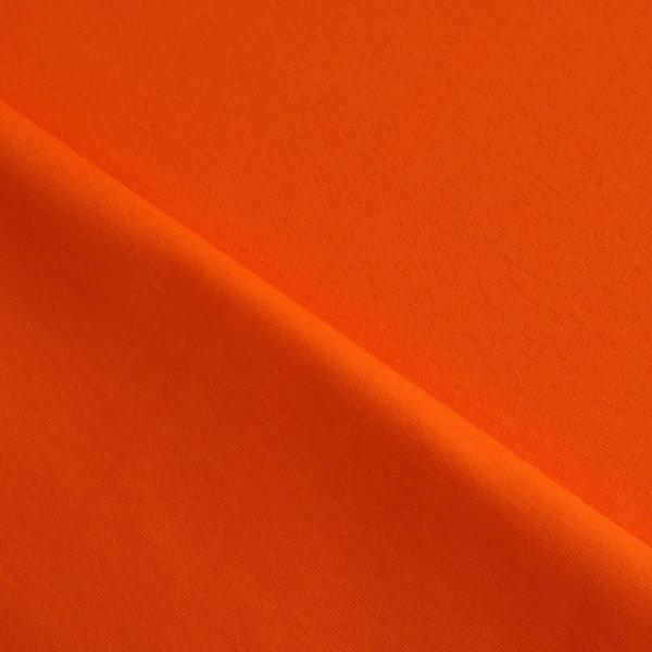 Jersey Bündchen Schlauch Uni - col. 441 tiger orange