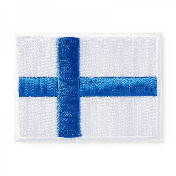 Applikation Teens and Jeans - Flagge Finnland