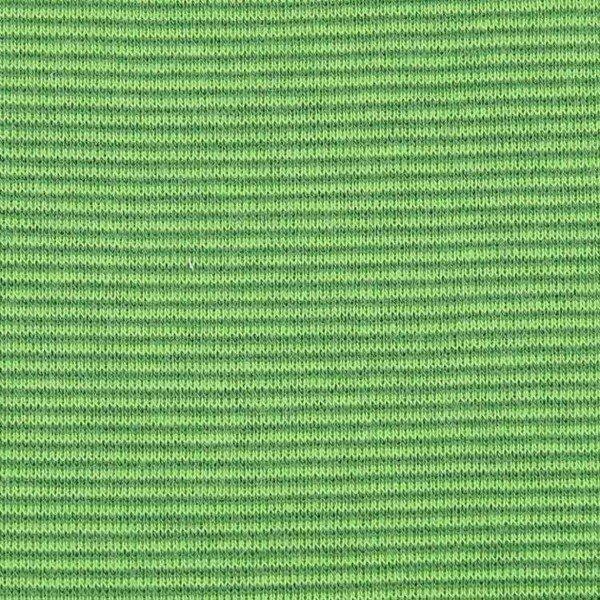 Jersey Bündchen Mini Stripes - col. 323-300 dunkelgrün/apfel