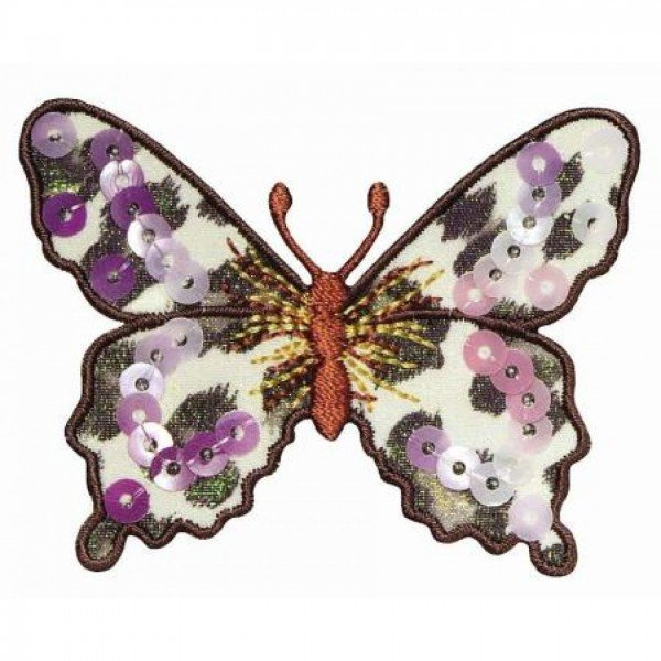 Applikation Fashion and Home - Schmetterling farbig