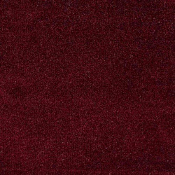 Nicky-Plüsch Uni - col. 509 burgund