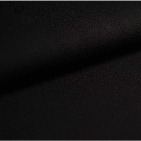 Jersey Bündchen Schlauch Uni - col. 900 schwarz